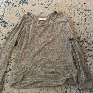 SoulCycle grey lightweight sweater sz m